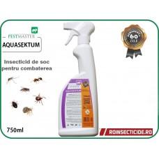 Insecticid impotriva insectelor cu eficacitate sporita si remanenta 60 zile Aquasektum 750ml