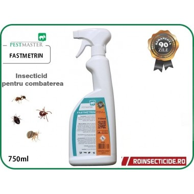 Insecticid impotriva insectelor cu eficacitate sporita si remanenta 90 zile Fastmetrin 750ml