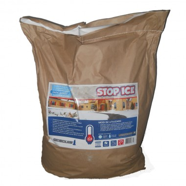 STOP ICE-produs biodegradabil pentru prevenire combatere gheata 25kg