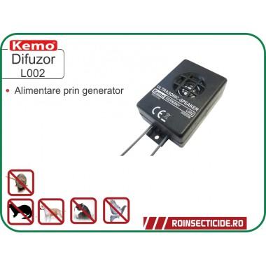 Difuzor Piezo pentru generator de ultrasunete anti rozatoare auto - Kemo L002