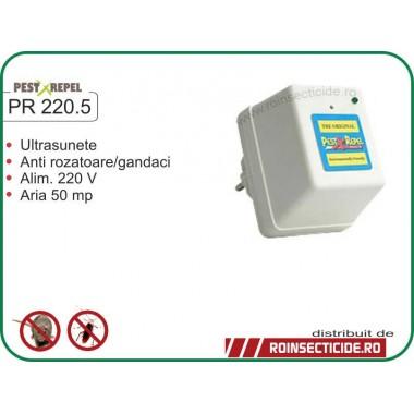 Aparat antirozatoare cu ultrasunete (50mp) - PR 220.5