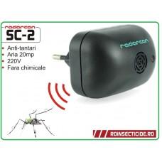 Aparat anti tantari cu ultrasunete pentru camera (20 mp) - Radarcan SC2