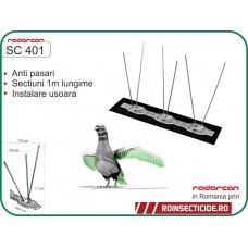 Kit anti-porumbei - montaj simplu oriunde doriti - Radarcan SC401