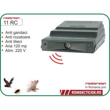 Aparat cu ultrasunete contra rozatoare, lilieci si gandaci (120mp) - Radarcan 11RC
