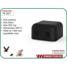 Aparat cu ultrasunete impotriva liliecilor,rozatoarelor (500 mp int.) - Radarcan R-301