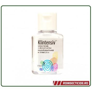 Mini gel dezinfectant pentru maini 28 ml - Klintensiv