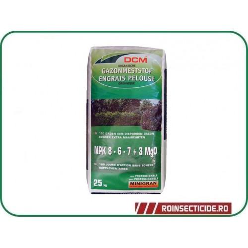 Fertilizant pentru gazon npk 8 6 7 3 mgo dcm 25 kg for Gazon 25 kg