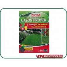 Fertilizant peluza + erbicid - NPK 9-3-6 DCM 3.5kg