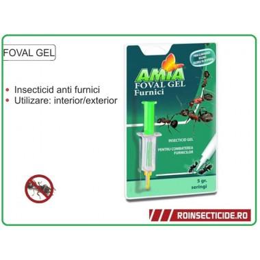 Foval Gel - Insecticid impotriva furnicilor