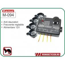 Dispozitiv anti jderi pentru auto cu 4 difuzoare - Kemo M094