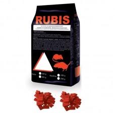 Rubis Raticid Parafina - 200 gr