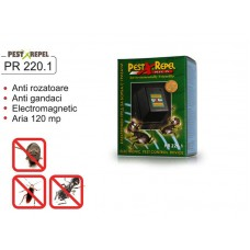 Aparat anti rozatoare si gandaci cu unde electromagnetice - PR 220.1 - 120 mp