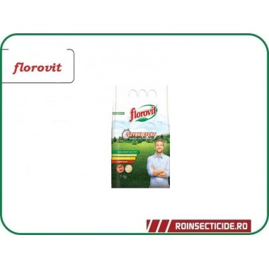 Ingrasamant specializat granulat pentru gazon cu efect rapid - Florovit 1 kg