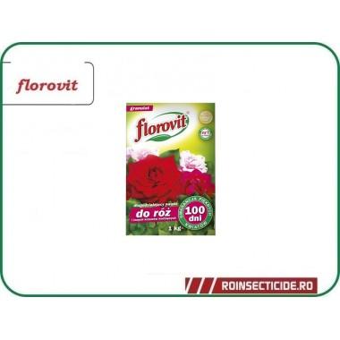 Ingrasamant specializat granulat pentru trandafiri si alti arbusti ornamentali cu efect prelungit 100zile - Florovit 1 kg