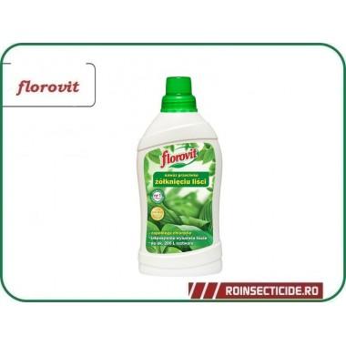 Ingrasamant specializat lichid care preintampina ingalbenirea frunzelor - Florovit 1 l