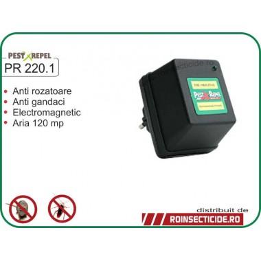 Aparat de protectie contra daunatorilor cu unde electromagnetice (120mp) - PR 220.1