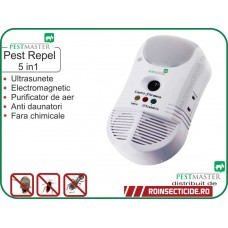 Aparat anti daunatori si purificator de aer (450mp) - Pestmaster Pest Repel 5 in 1