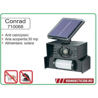 Dispozitiv solar anti caini-pisici cu senzor de miscare Conrad
