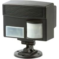 Dispozitiv electronic cu ultrasunete si senzor PIR 60035 pentru alungarea animalelor, caini, pisici, pasari, iepuri, porci mistreti, caprioare, rozatoare 100mp