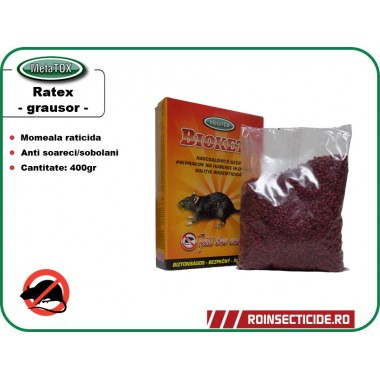 Rodenticid Biokett (400gr.) - Formula Boabe de cereale impregnate
