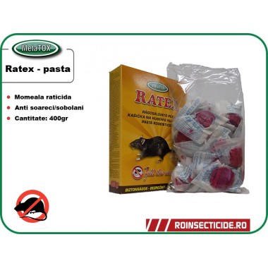 Pasta RATEX (400gr) - Momeala raticida proaspata