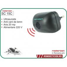 Aparat cu ultrasunete impotriva cariilor de lemn (20mp) - Radarcan SC 15C