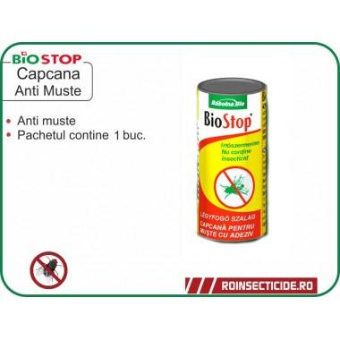 Capcana cu lipici pentru muste - BioStop