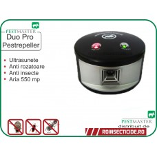 Aparat antigandaci,anti rozatoare cu ultrasunete (550mp) - Pestmaster Duo Pro