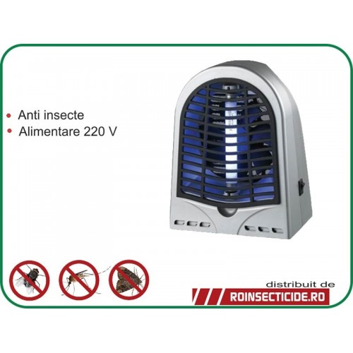 aparat anti insecte cu lampa uv 4w si ventilator. Black Bedroom Furniture Sets. Home Design Ideas