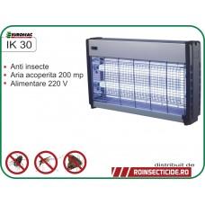 Aparat cu ultraviolete impotriva insectelor zburatoare precum tantari si muste (200mp) - IK 30