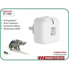 Radarcan R-106 - Dispozitiv cu ultrasunete impotriva gandacilor si soarecilor(25mp)