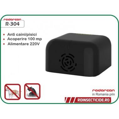 Radarcan R-304 (100mp) - Dispozitiv cu ultrasunete anti-caini/pisici