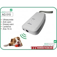 Aparat portabil impotriva cainilor cu ultrasunete (15m) - Pestmaster AG015