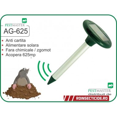 Aparat anticartita solar - Pestmaster AG625 (625 mp) - REDUCERE -46%