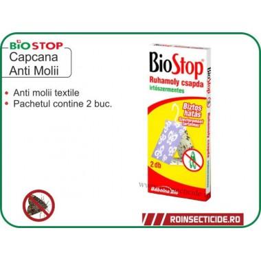 Capcana cu feromoni anti molii textile - Biostop