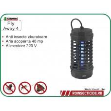 Aparat anti muste, tantari si alte insecte zburatoare (40 mp) Fly Away 4