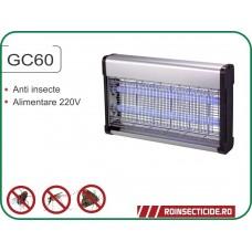 GC 60 - Distrugator insecte muste, tantari (200 mp)