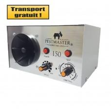 Aparat industrial cu ultrasunete anti rozatoare, anti insecte, anti pasari - Pestmaster I50 - 500 mp