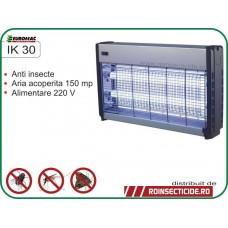 Aparat cu ultraviolete impotriva insectelor zburatoare precum tantari si muste (150mp) - IK 30