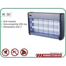 Aparat cu ultraviolete impotriva insectelor zburatoare  (200mp) - IK 30 - REDUCERE -25%