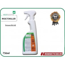 Pestmaster INSECTOKILLER  750ml - Insecticid profesional contra insectelor zburatoare