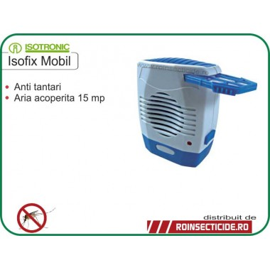 Dispozitiv mobil anti-insecte Isotronic Isofix  - 15 mp
