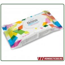 Servetele umede dezinfectante 80 bucati - Klintensiv