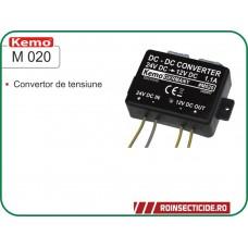 Convertor de tensiune 24V - 12V Kemo M 020