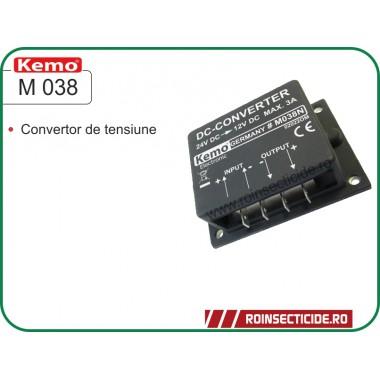 Convertor de tensiune 24V - 12V Kemo M038 N