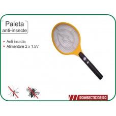 Paleta electrica anti insecte