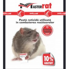 MasterRat Raticid Pasta Rosie - 200 gr