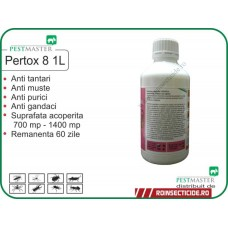Insecticid anti insecte zburatoare si taratoare Pertox 8 - 1L