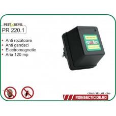 Aparat cu unde electromagnetice anti-gandaci,anti-rozatoare (120mp) - PR 220.1