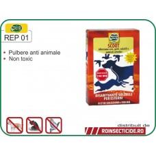 Praf solubil impotriva animalelor si pasarilor (150 gr) REP 01 SCOOT